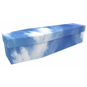 Mr Blue Sky - Landscape / Scenic Design Picture Coffin