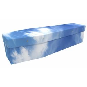 Mr Blue Sky - Landscape / Scenic Design Picture Coffin