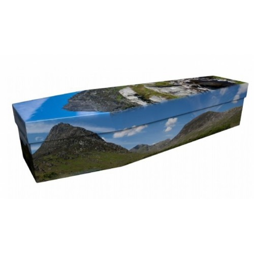 Ogwen Valley Mountains (Wales) - Landscape / Scenic Design Picture Coffin