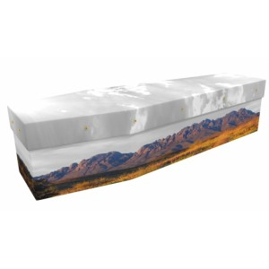 Cowboy Country - Landscape / Scenic Design Picture Coffin