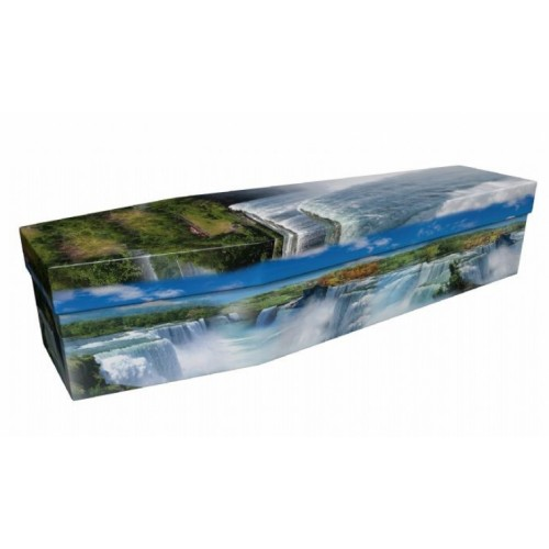 The World's Most Beautiful Waterfall (Niagara) – Landscape / Scenic Design Picture Coffin