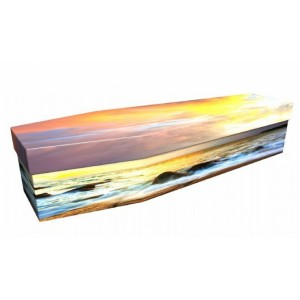 Ocean Sunset– Landscape / Scenic Design Picture Coffin