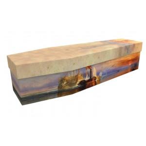 HEROINE OF TRAFALGAR (J M W Turner) – Military & Patriotic Design Picture Coffin
