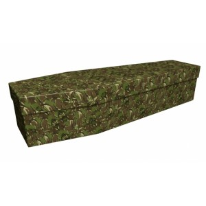 BE THE BEST (Army) – Military & Patriotic Design Picture Coffin