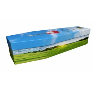 Country Music – Lost in Music Design Picture Coffin