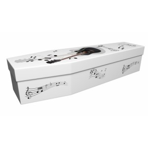 Music the voice of the Soul - Lost in Music Design Picture Coffin