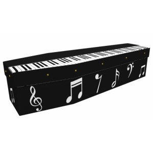 Unlock the Beauty (Piano Music) - Lost in Music Design Picture Coffin