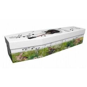Music of Springtime - Lost in Music Design Picture Coffin