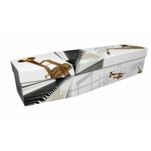 Sound of Music – Lost in Music Design Picture Coffin
