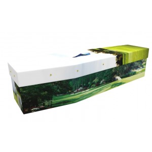 Pro Golfer - Sports & Hobbies Design Picture Coffin