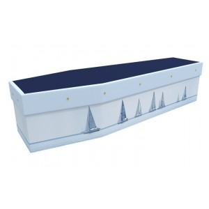 Yacht Racing - Sports & Hobbies Design Picture Coffin