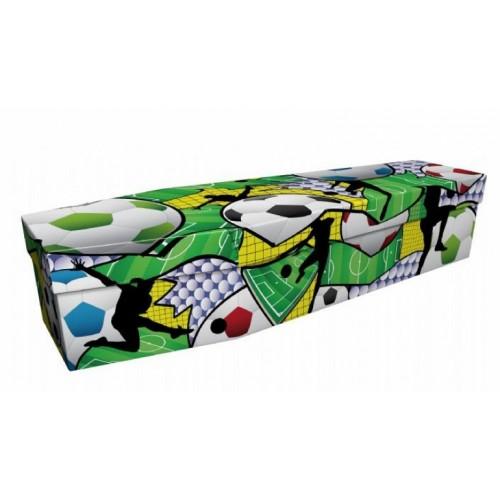 Urban Soccer - Sports & Hobbies Design Picture Coffin