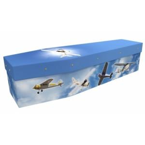 Private Pilot - Sports & Hobbies Design Picture Coffin