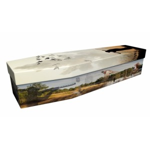 Pheasant Hunt (Go Hunting) - Sports & Hobbies Design Picture Coffin