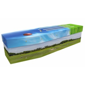 County Cricket - Sports & Hobbies Design Picture Coffin