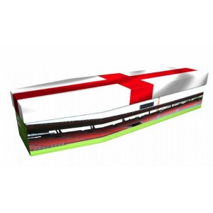 Pride of England (Football) - Sports & Hobbies Design Picture Coffin