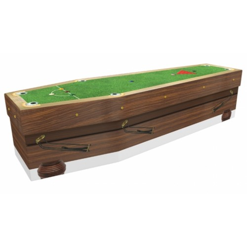 Pot Black (Snooker) - Sports & Hobbies Design Picture Coffin