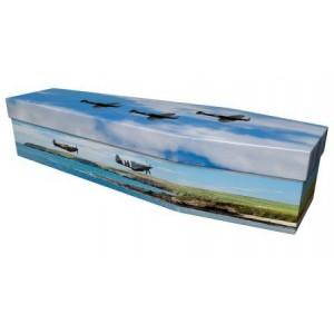Spitfire (Wild & Free) - Premium Cardboard Picture Coffin