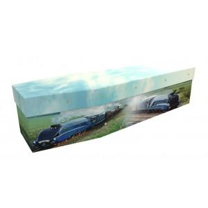 Flight Of The Mallard (LNER Steam Train) – Transport Design Picture Coffin