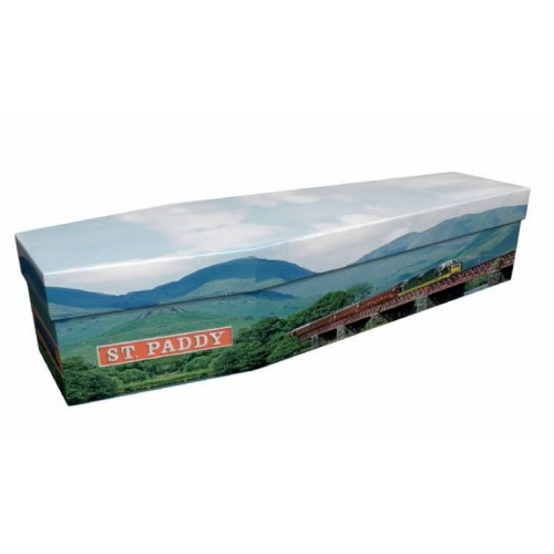 St Paddy Train 55001 – Transport Design Picture Coffin