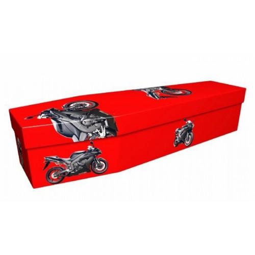 Biker– Transport Design Picture Coffin