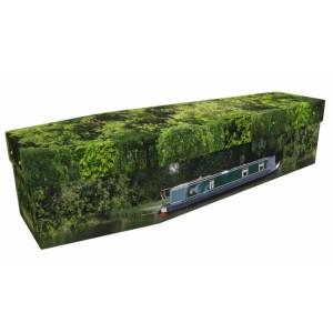 Narrowboat - Transport Design Picture Coffin