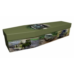 Landrover (Above & Beyond) – Transport Design Picture Coffin