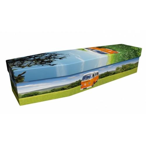Volkswagon Campervan – Transport Design Picture Coffin