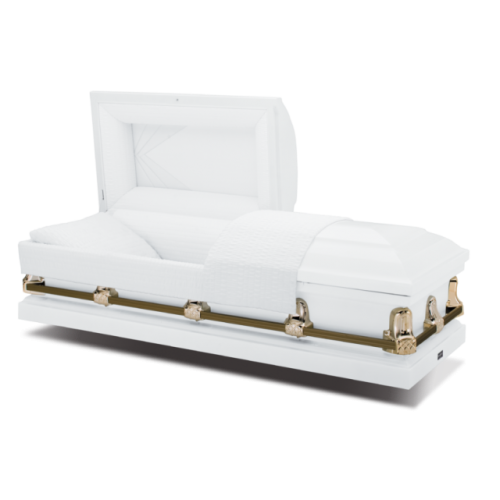 Diamond White American Casket - Compare our Prices & Make the Savings