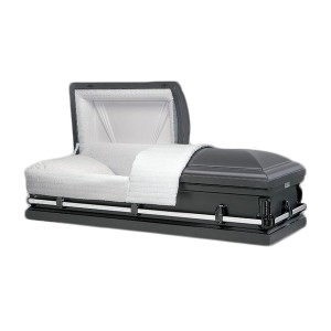 Portland Grey American Style Metal Casket - Premium Caskets at Affordable Prices