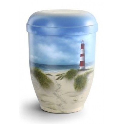 Biodegradable Cremation Ashes Urn -  LIGHTHOUSE