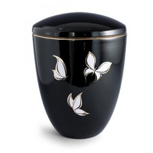 Tuscany Butterfly Ceramic Cremation Ashes Urn