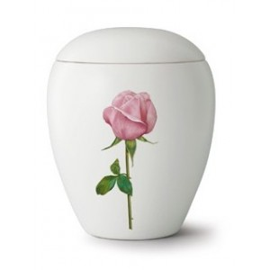 Floral Rose Cremation Ashes Urn