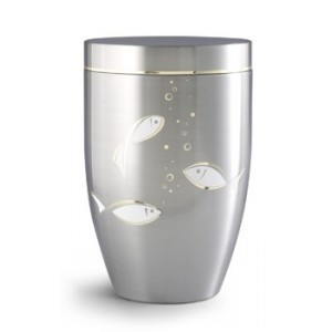 Stellar Range – FISH DESIGN Steel Cremation Ashes Funeral Urn