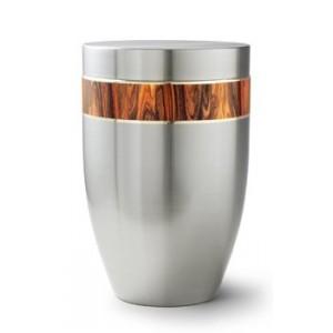Stellar Range – ROSEWOOD RIBBON DESIGN Steel Cremation Ashes Funeral Urn