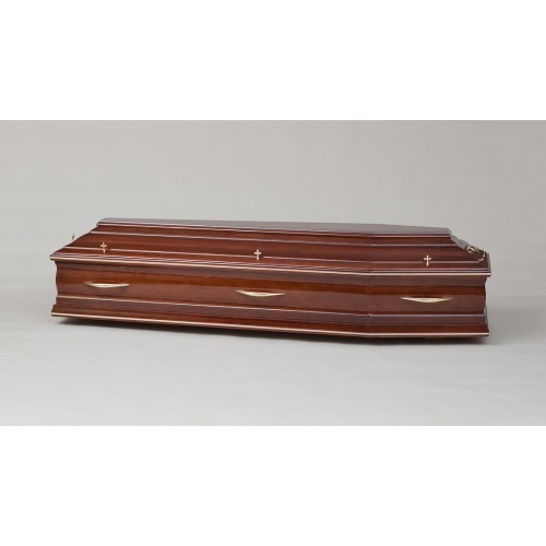 Premium Solid PINE Coffin - THE ROYAL