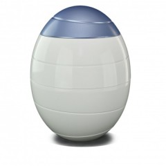 White & Blue 'INFINITY' Biodegradable Urn (Inc FREE Delivery)