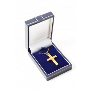 Gold Plated over Stering Silver Cross