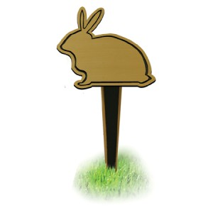 Memorial Stake Rabbit (FREE ENGRAVING)