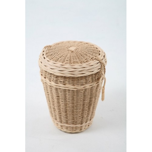 Loom Round Cremation Ashes Urn - Environmentally Friendly Woven Urns