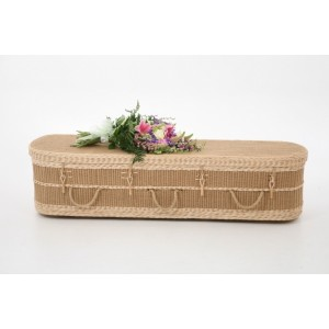 Loom Regency (Oval Style) Coffin. Please call for best prices