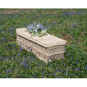 Seagrass Regency (Traditional Style) Coffin. Please call for best prices