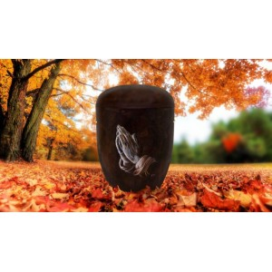 Biodegradable Cremation Ashes Funeral Urn / Casket - IN THINE HANDS
