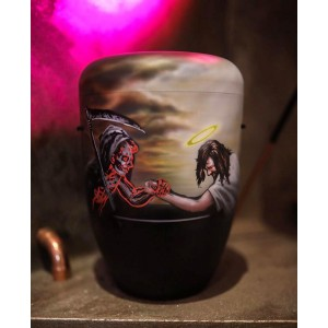 Biodegradable Cremation Ashes Funeral Urn / Casket – THE WRESTLING REAPER
