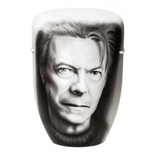 Biodegradable Cremation Ashes Funeral Urn / Casket – DAVID BOWIE