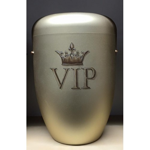 Biodegradable Cremation Ashes Funeral Urn / Casket - V I P