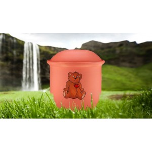Children's (Boy / Girl / Child) Cremation Ashes Urn -  TEDDY BEAR