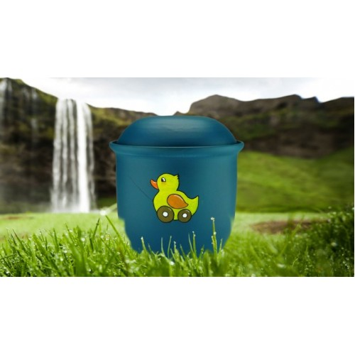Children's (Boy / Girl / Child) Cremation Ashes Urn - TOY DUCK