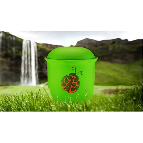 Children's (Boy / Girl / Child) Cremation Ashes Urn - LADYBIRD
