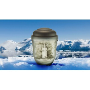 Biodegradable Cremation Ashes Funeral Urn / Casket - MOUSE TOWER